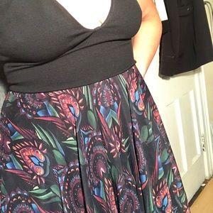 Alice & Olivia maxi dress (fall collection 2017)